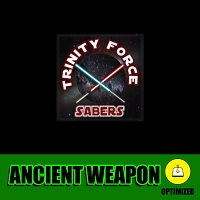 Ancient Weapon Trinity Force Sabers