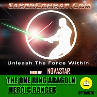 The One Ring Aragoln Dramatic Heroic Ranger