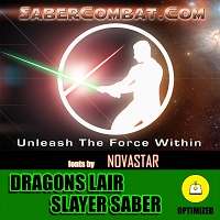 Dragons Lair Slayer Saber